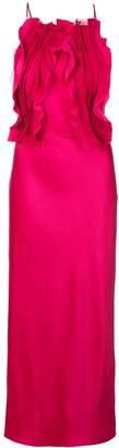 Jason Wu Collection ruffled front dress