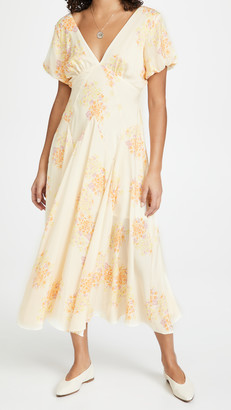 Free People Laura Printed Maxi Dress