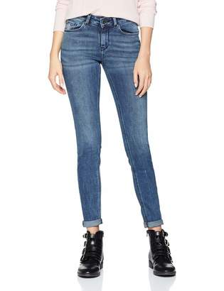 Scotch & Soda Maison Women's La Bohemienne-Day Hike Straight Jeans Blue 2634 W27/L30 (Size: 27/30)