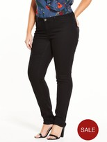 Junarose Jr Queen Nw Slim Jeans- Black