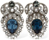 Dolce & Gabbana CRYSTAL STUD CLIP-ON EARRINGS