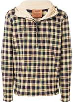 Missoni checkered pattern hoodie