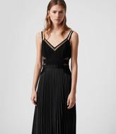 AllSaints Cora Pleat Dress