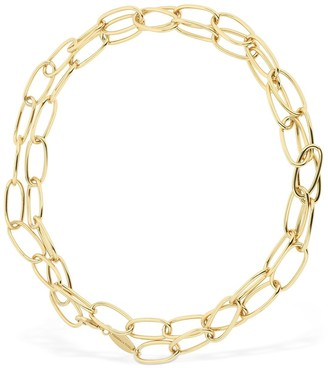 FEDERICA TOSI Lace Bolt Adjustable Long Necklace