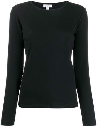 Sunspel ribbed long-sleeved T-shirt