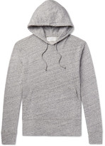 Officine Generale Mélange Loopback Cotton-Jersey Hoodie