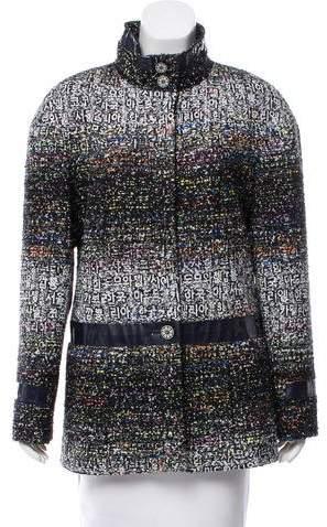 Chanel 2016 Paris-Seoul Fantasy Tweed Jacket