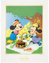 Disney Mouse Picnic Deluxe Print - Matted