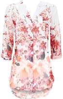 Petite Floral Printed Shirt