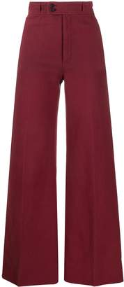 Saint Laurent Pre-Owned 1970s high-waisted trousers