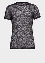 Versace Stretch Lace T-Shirt