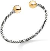 David Yurman Solari Sterling Silver Diamond & Bead Bracelet