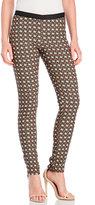Alysi Geometric Jacquard Trousers