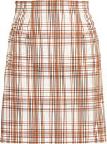 Veronica Beard Roman Plaid Mini Skirt