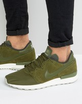 Nike Air Berwuda Premium Trainers In Green 844978-300