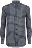 Stefano Ricci Printed Silk Long Sleeve Shirt