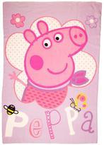 Peppa Pig Pepper Pig Happy Fleece Blanket