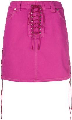 Unravel Project Side Tie Fastenings Skirt