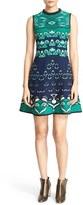 M Missoni Women's Floral Jacquard Fit & Flare Dress