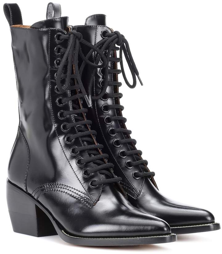 d692ab74 Lace-up leather boots