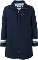 Stone Island Marina stripe tank shield coat - men - Polyester/Polyurethane Resin - L
