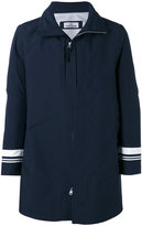 Stone Island Marina stripe tank shield coat - men - Polyester/Polyurethane Resin - S