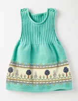Boden Fun Knitted Pinafore Dress