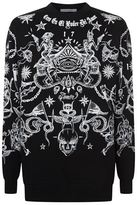 Givenchy Tattoo Print Jumper