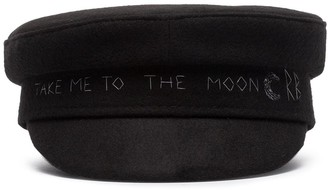 Ruslan Baginskiy Black To The Moon baker hat