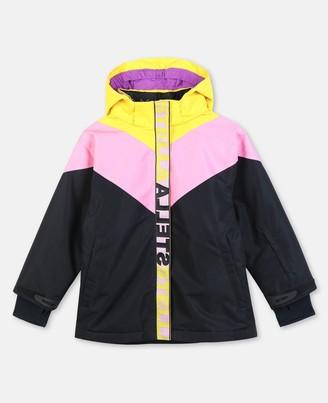 Stella Mccartney Kids Stella McCartney colour-block ski jacket