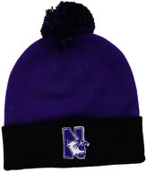 Top of the World Northwestern Wildcats 2-Tone Pom Knit Hat