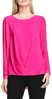 Vince Camuto Crewneck Long Sleeve Blouse