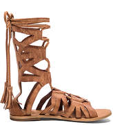 Free People Mesa Verde Gladiator Sandal in Tan