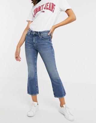 Tommy Jeans crop flare jean
