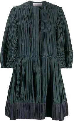Jil Sander Crinkle-Finish Dress