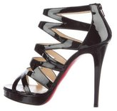 Christian Louboutin Patent Leather Fernando 120 Sandals
