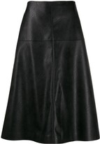 Stella McCartney high-waisted A-line skirt