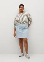 Thumbnail for your product : MANGO Short denim skirt