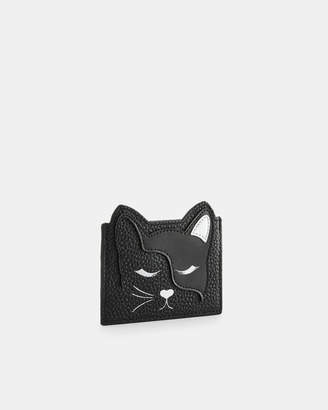 Ted Baker ELLSI Cat leather card holder
