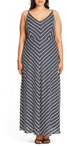 City Chic Plus Size Women's Sailor Maxi Dress