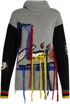 Joseph Fruit-embroidered wool sweater