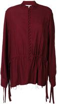 IRO gathered waist blouse