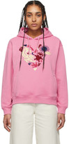 Kenzo Pink Limited Edition Valentines Day Heart Print Hoodie