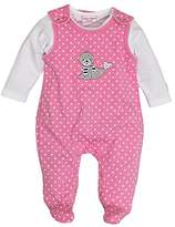 Salt&Pepper SALT AND PEPPER Baby Girls' BG Playsuit Allover Footies,(EU)