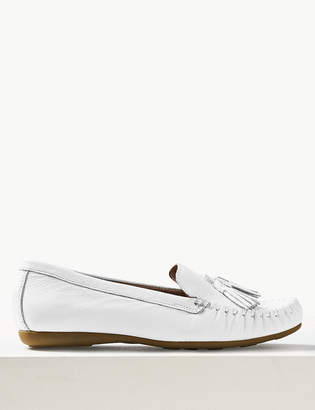 M&S CollectionMarks and Spencer Leather Tassel Loafers