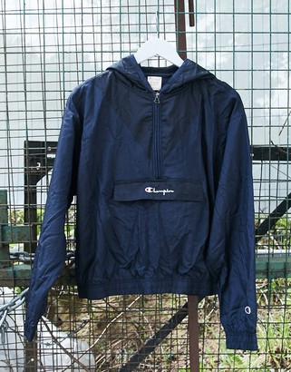 Champion half zip windbreaker jacket
