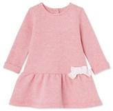 Petit Bateau Baby girls dress in cotton fleece
