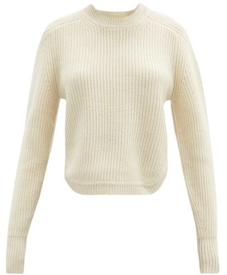 Isabel Marant Brent Rib-knitted Cashmere Sweater - Ivory