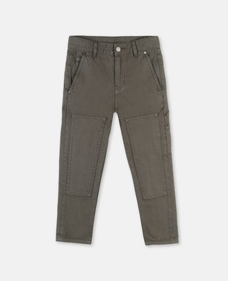 Stella Mccartney Kids Stella McCartney denim trousers with patches
