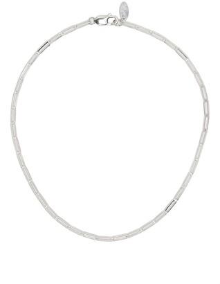 VICTORIA STRIGINI Thick Link Silver Chain Necklace